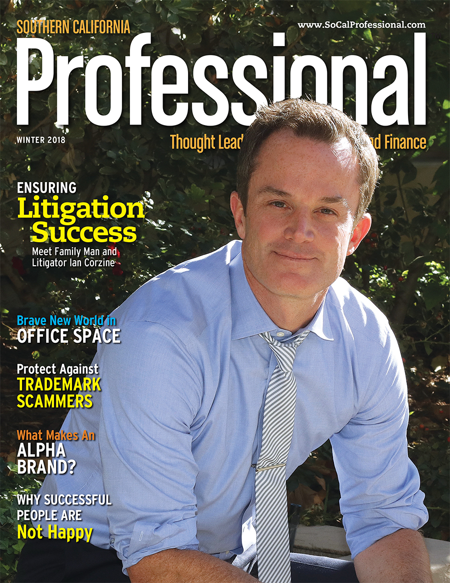 Southern California Professional Magazine Winter 2018